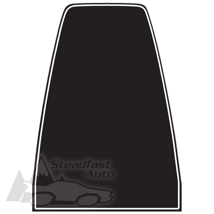 MUSTANG HOOD SCOOP STRIPE DECAL MACH STYLE MATTE BLACK - Custom vinyl decal application fluid